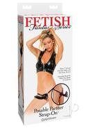 Fetish Fantasy Posable Partner Strap On 7 Inch Black